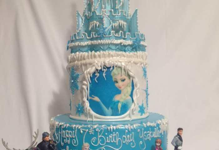 Frozen Castle Cake Yelp