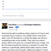 This Is Me Asking Photo Of Burlington Mattress Joliet Il United States