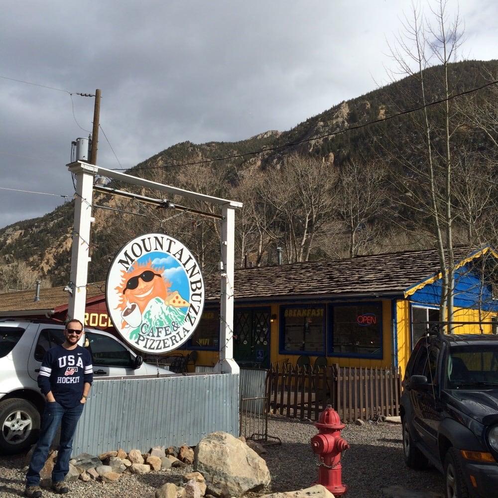 Mountainbuzz Cafe & Pizzeria - Georgetown, CO, United States. Fun times!