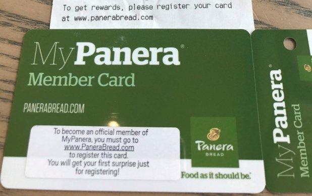 Mypanera Loyalty Card Registration Cardbk Co