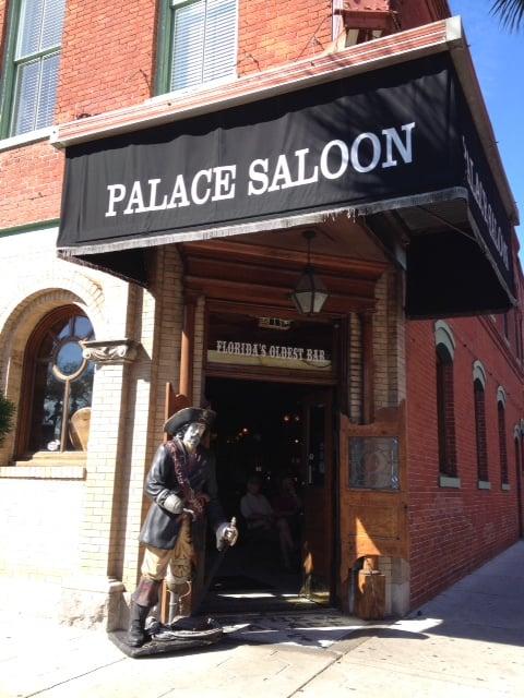 Palace Saloon - Fernandina Beach, FL, United States. The Palace Saloon entrance