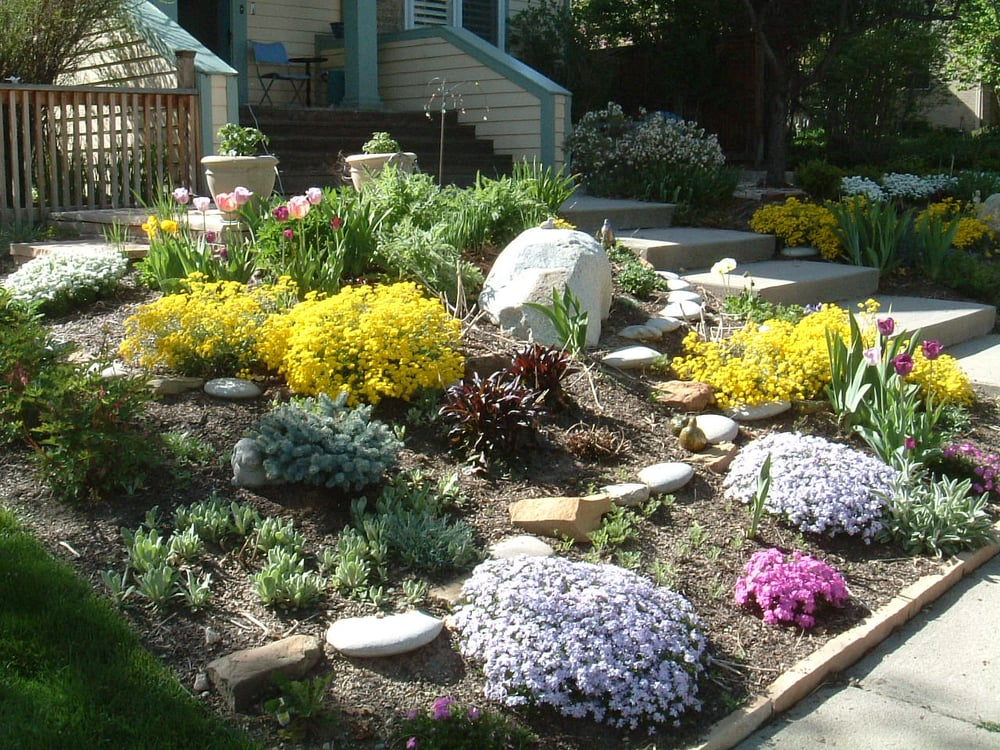 xeriscape slope solution - Yelp on Xeriscape Backyard Designs id=73890