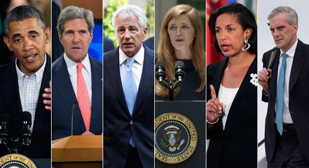 Image result for barack obama and national security team