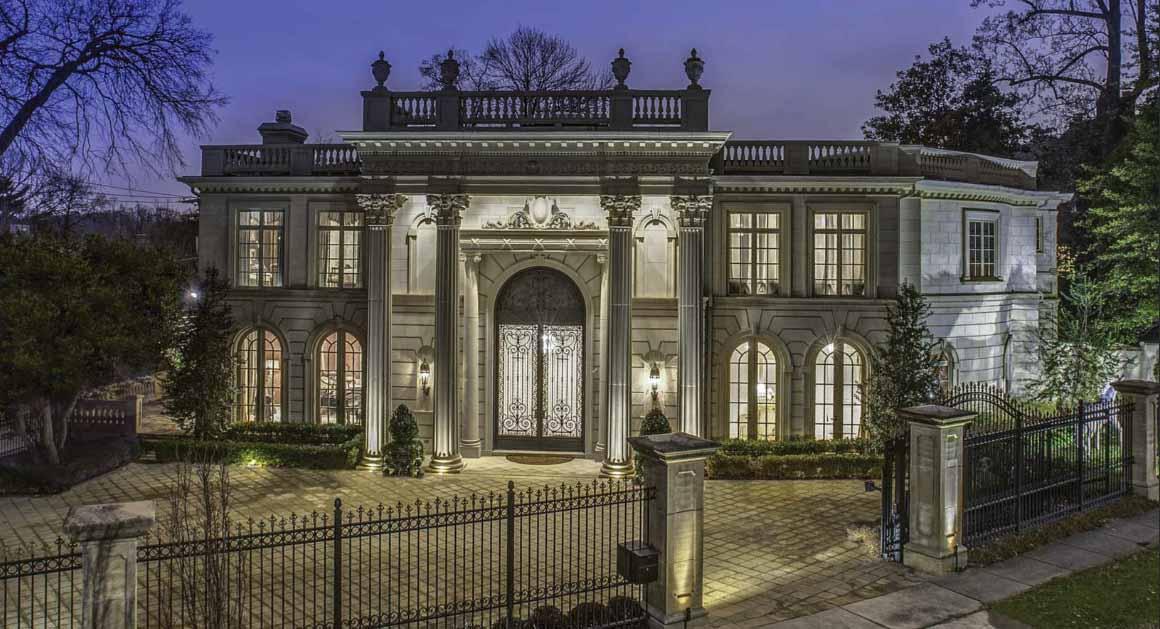 Melvyn Estrins Embassy Row Mansion For Sale For 155