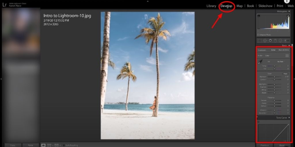 Lightroom Product photography