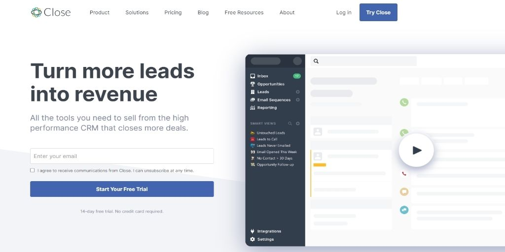 Close Apptivo HubSpot Agile Keap Zoho Act!-software Freshsales Salesforce CRM Software For eCommerce
