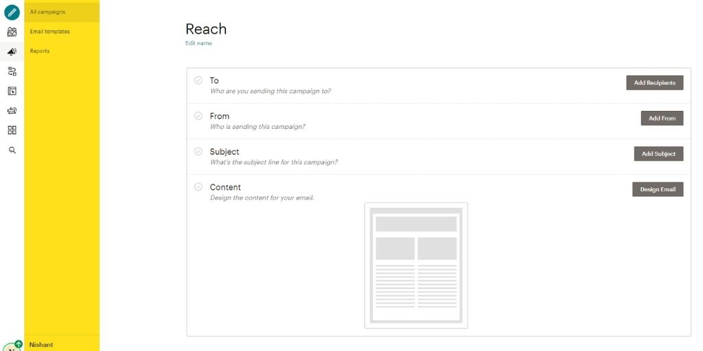 Mailchimp for Email Marketing