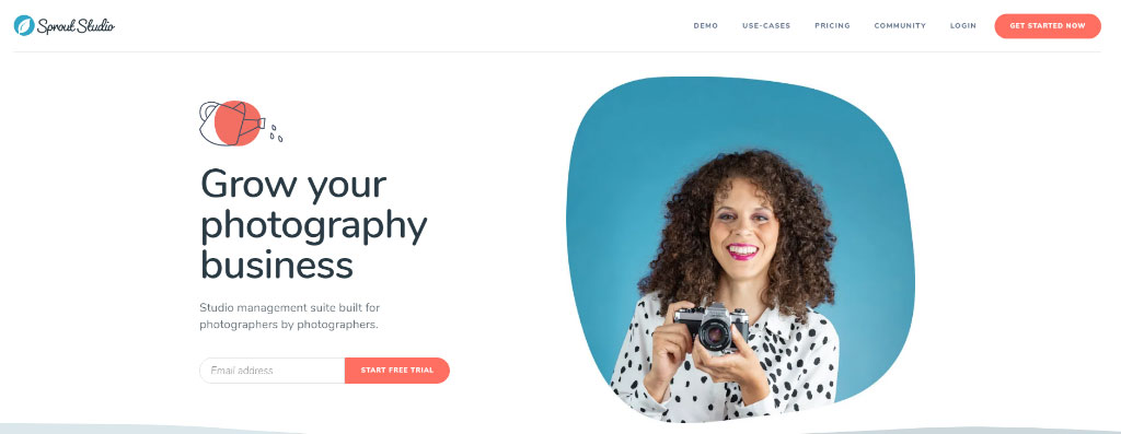 Sprout Studio Photography Studio Management Software