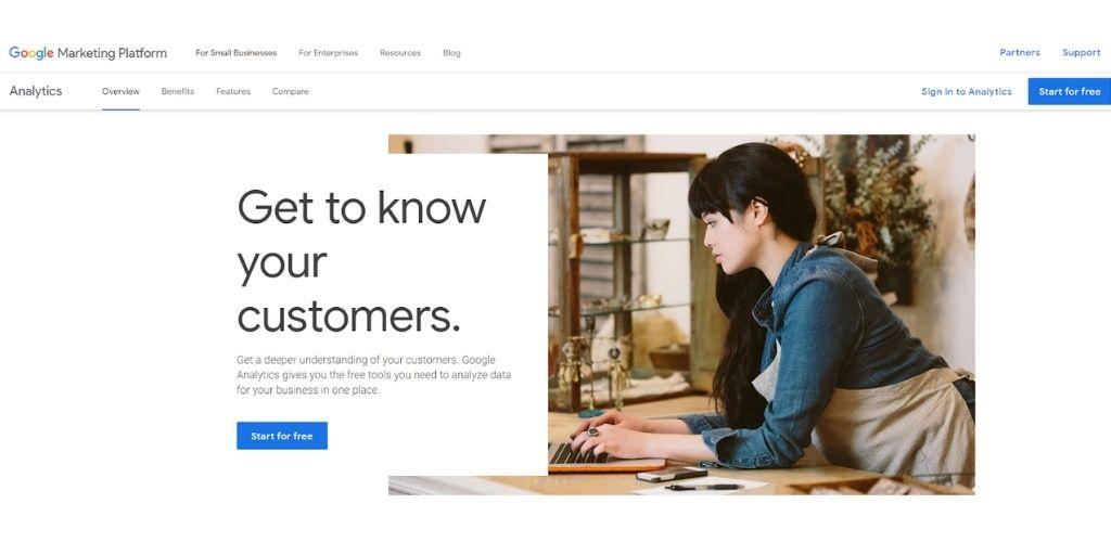 Starting your Google Analytics