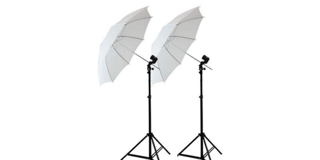 Umbrella lighting for Product Photography