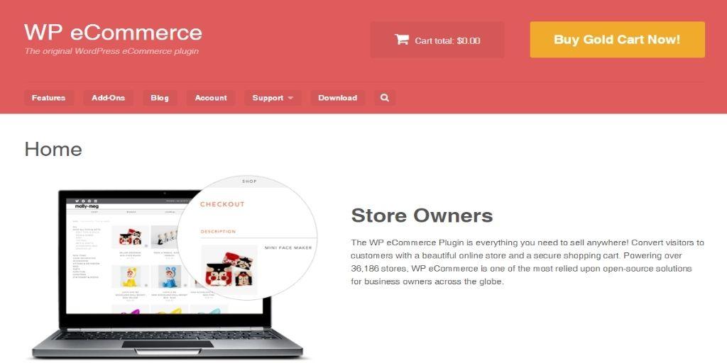 WP-eCommerce eCommerce WordPress Plugins