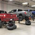 Custom Nissan Titans Leave Big Impression
