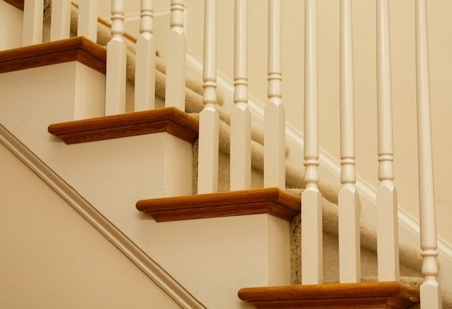 Using Pre Cut Treads And Risers Bob Vila | Hardwood Stair Treads And Risers | Stained | Maple | Hickory | Red Oak | New