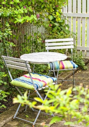 how to clean outdoor cushions patio furniture How to Clean Patio Cushions - Bob Vila