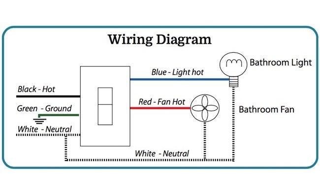 Bathroom Ventilation Fan Wiring Diagram - Bathroom Design