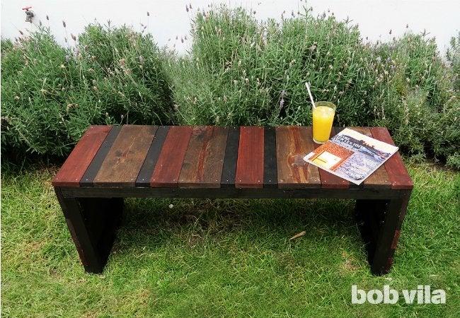 DIY Outdoor Bench DIY Lite Bob Vila