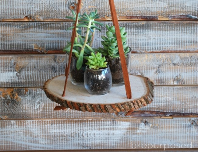 DIY Plant Stand Tutorial (with Photos) + 5 Other Ideas ... on Hanging Plant Stand Ideas  id=96746