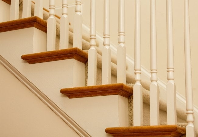 How To Install Carpet On Stairs Bob Vila | Carpet Treads For Wooden Stairs | Commercial Rubber | Rectangular Cord Treads | Carpet Wrapped | Self Adhesive | Different Style Stair