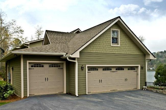 How to Paint a Garage Door - Bob Vila on Garage Door Colors Pictures  id=30766