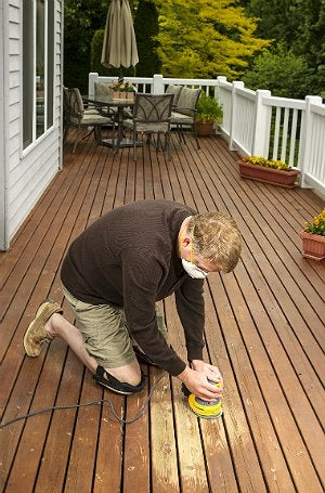 Deck Maintenance - Refinishing Wooden Deck
