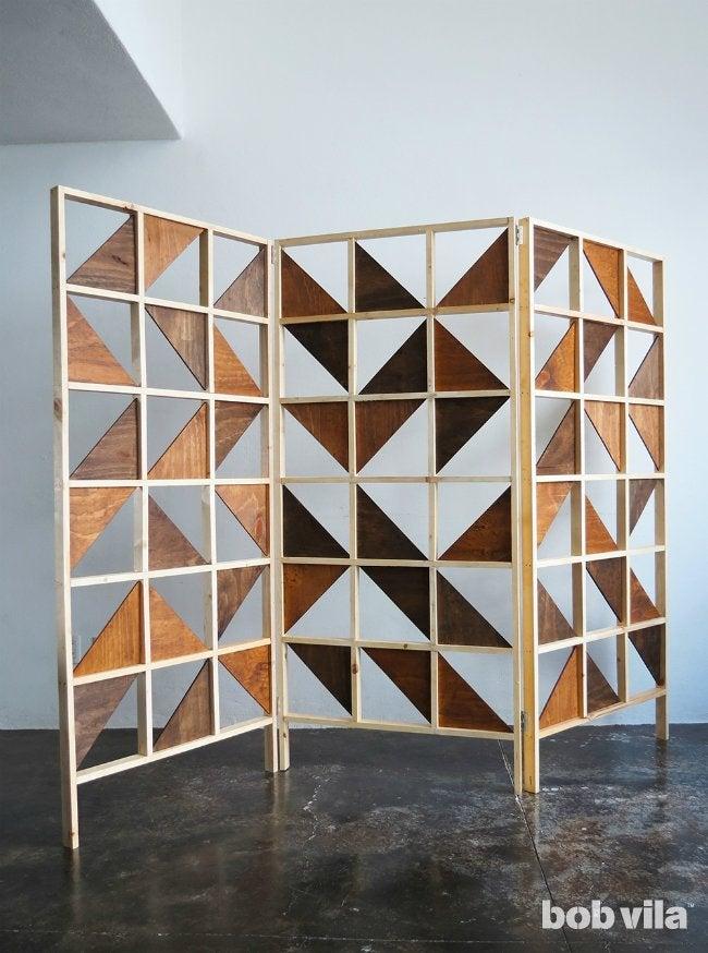 DIY Room Divider Tutorial Bob Vila