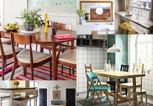 This could mean arranging your living space to be a home office and dining room or having furniture that can serve as a work desk and a dining. Small Dining Room Ideas - 10 Tips and Tricks - Bob Vila