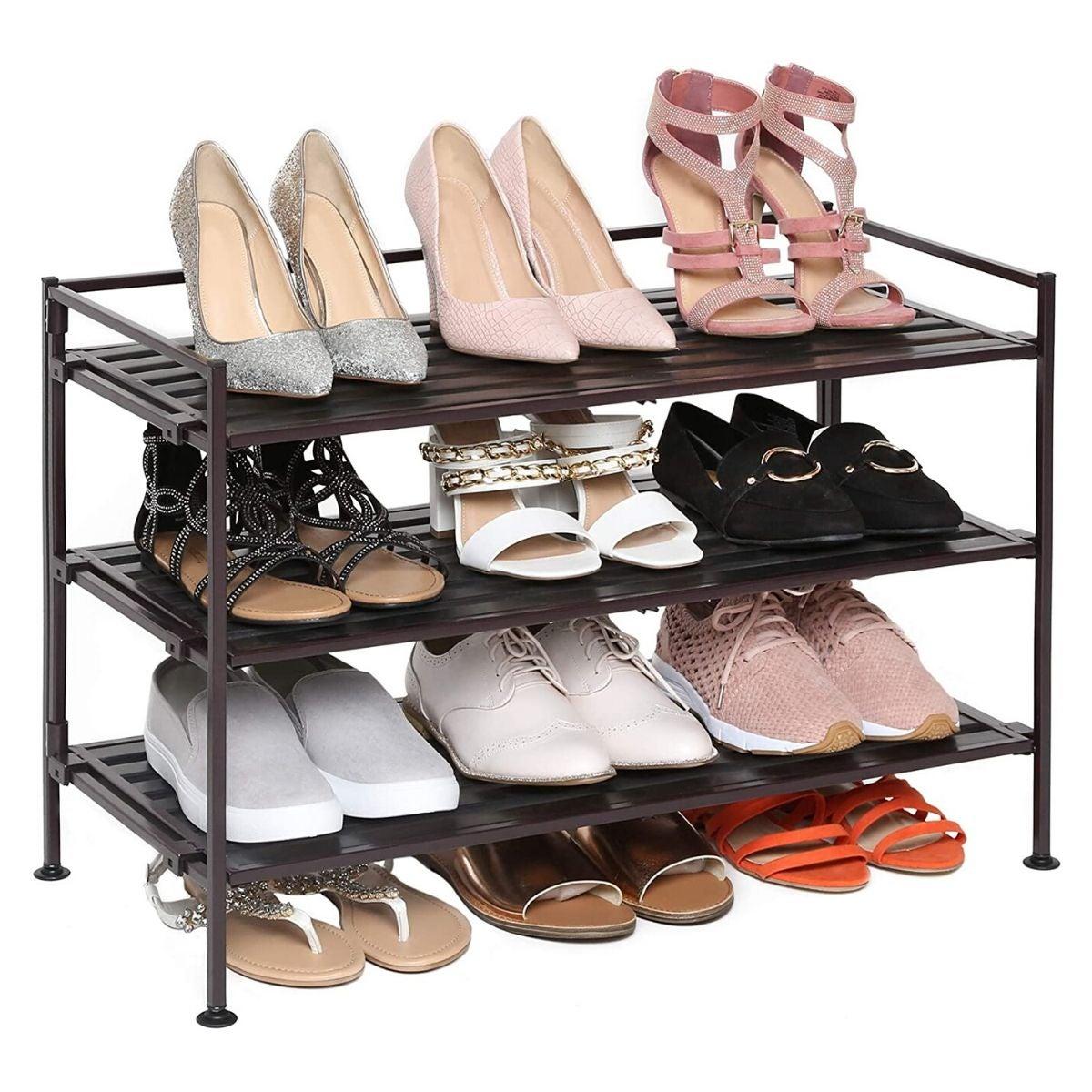 The Best Shoe Racks For Entryways And Closets Bob Vila