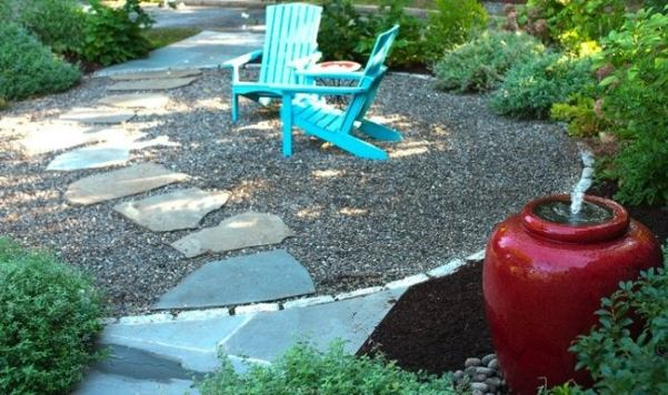 Image result for gravel patio