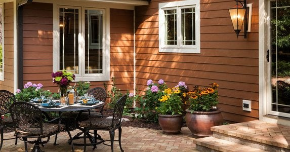 Backyard Makeovers - 7 Budget-Friendly Tips and Tricks ... on Patio Makeovers On A Budget id=45859
