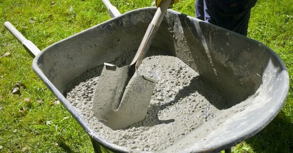 How To Mix Concrete Bob Vila