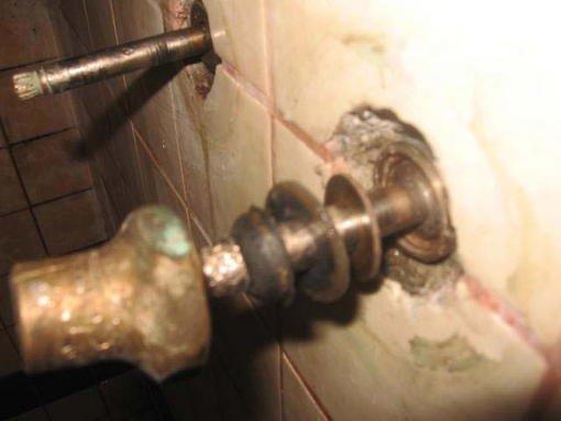 OLD Shower Diverter Stuck Leaking Inside Wall Forum