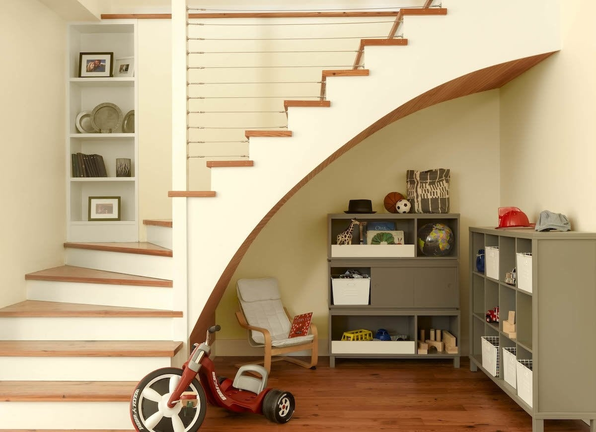 Under Stair Storage 17 Clever Ideas Bob Vila | Stair Room Front Design | 3Rd Floor | Residential | 100 Sq Meter House | Hall | Small Space