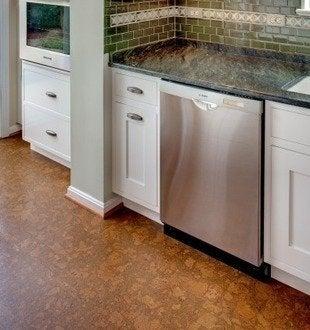 Casedesignremodeling cork kitchen flooring
