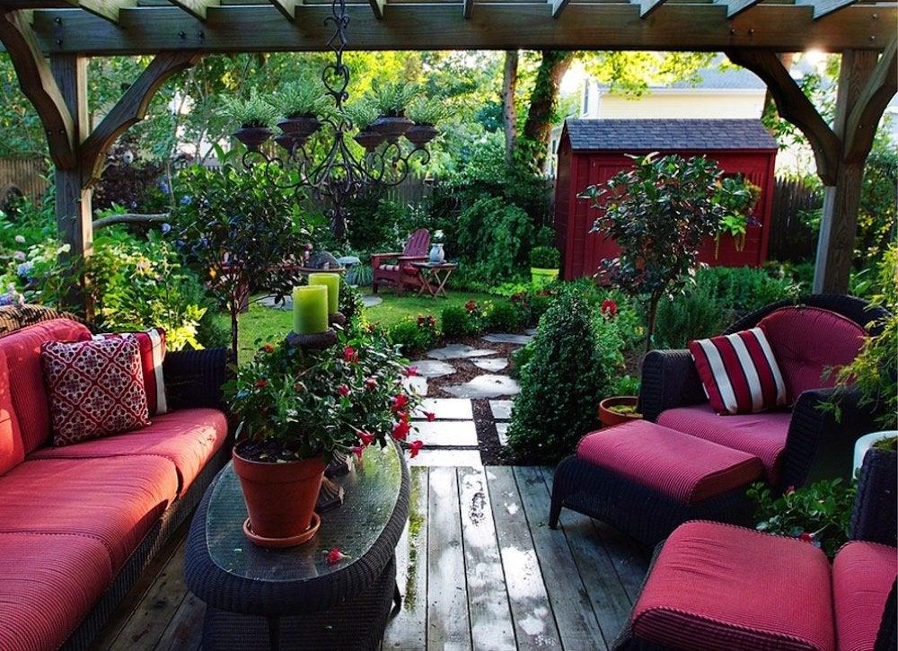 Outdoor Living Room Trend - Outdoor Living Spaces - 7 ... on Garden And Outdoor Living  id=19179