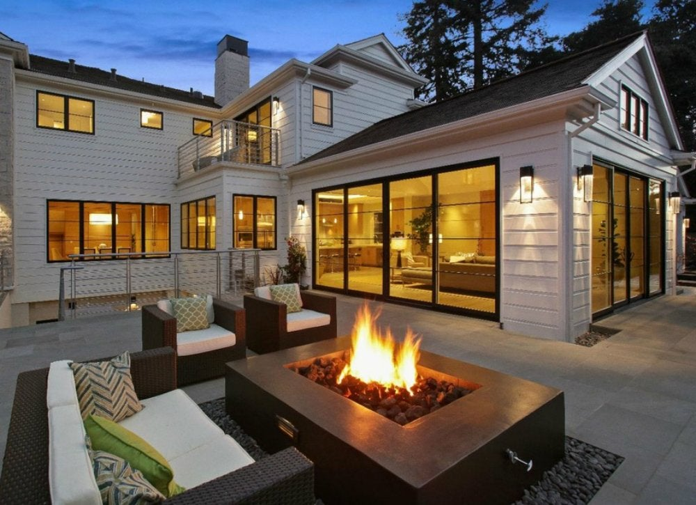 Outdoor Living Spaces - 7 Ideas To Try This Season - Bob Vila on Living Room Fire Pit id=57806