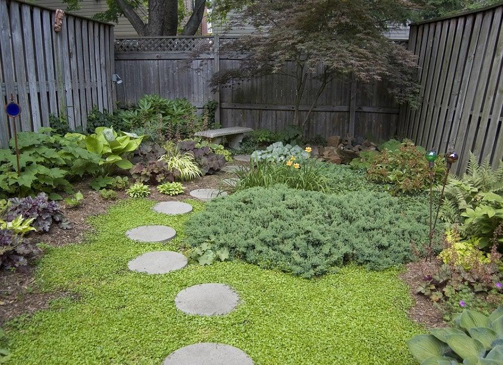 DIY Stepping Stones - Small Backyard Ideas - 9 Ideas to ... on Stepping Stone Patio Ideas  id=31928