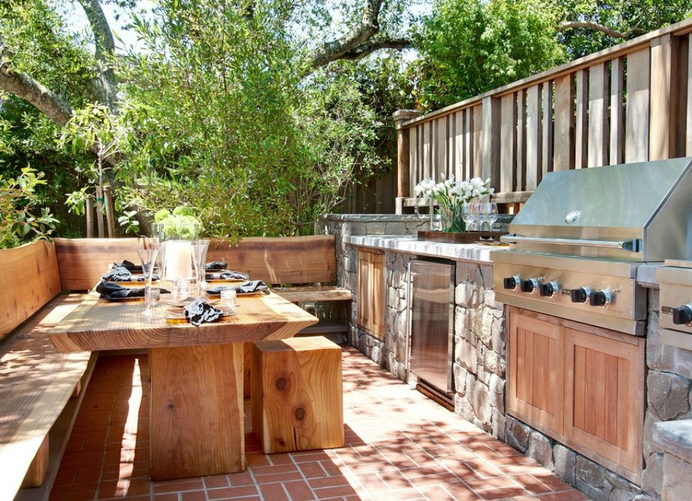 Outdoor Kitchen Ideas - 10 Designs to Copy - Bob Vila on Patio Kitchen  id=21570