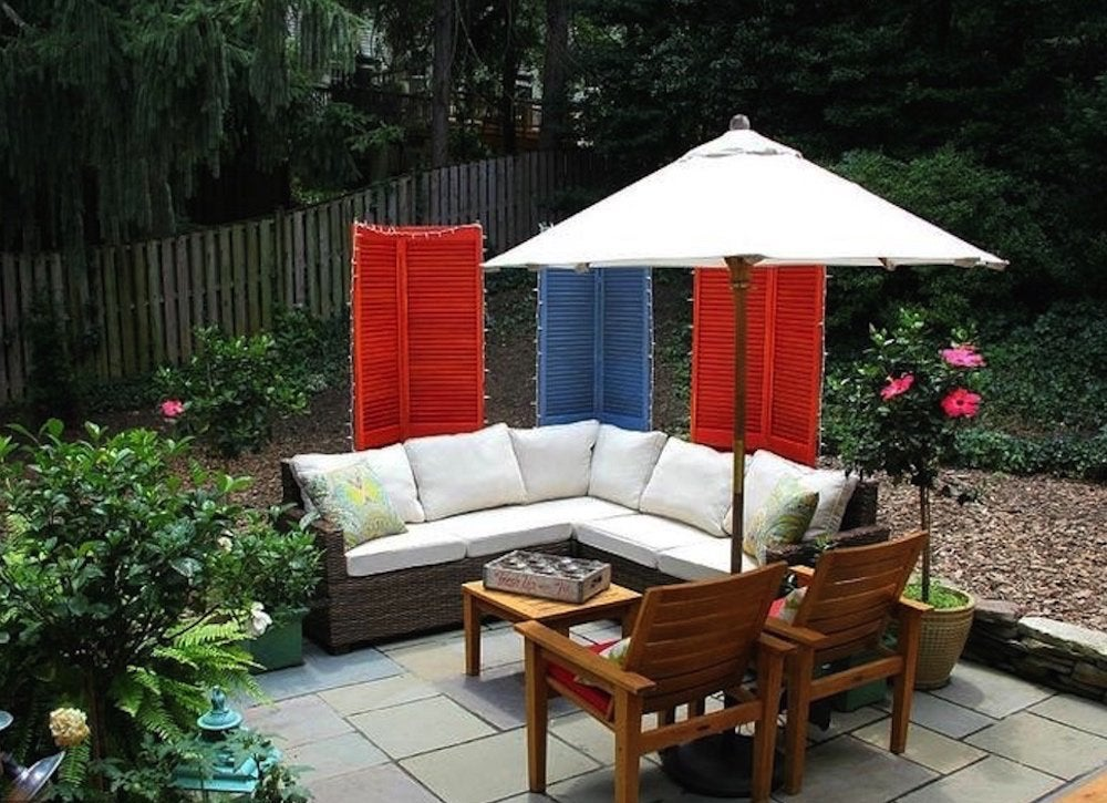 Cheap Patio Ideas - 8 DIY Pick-Me-Ups - Bob Vila on Small Backyard Patio Ideas On A Budget id=83244