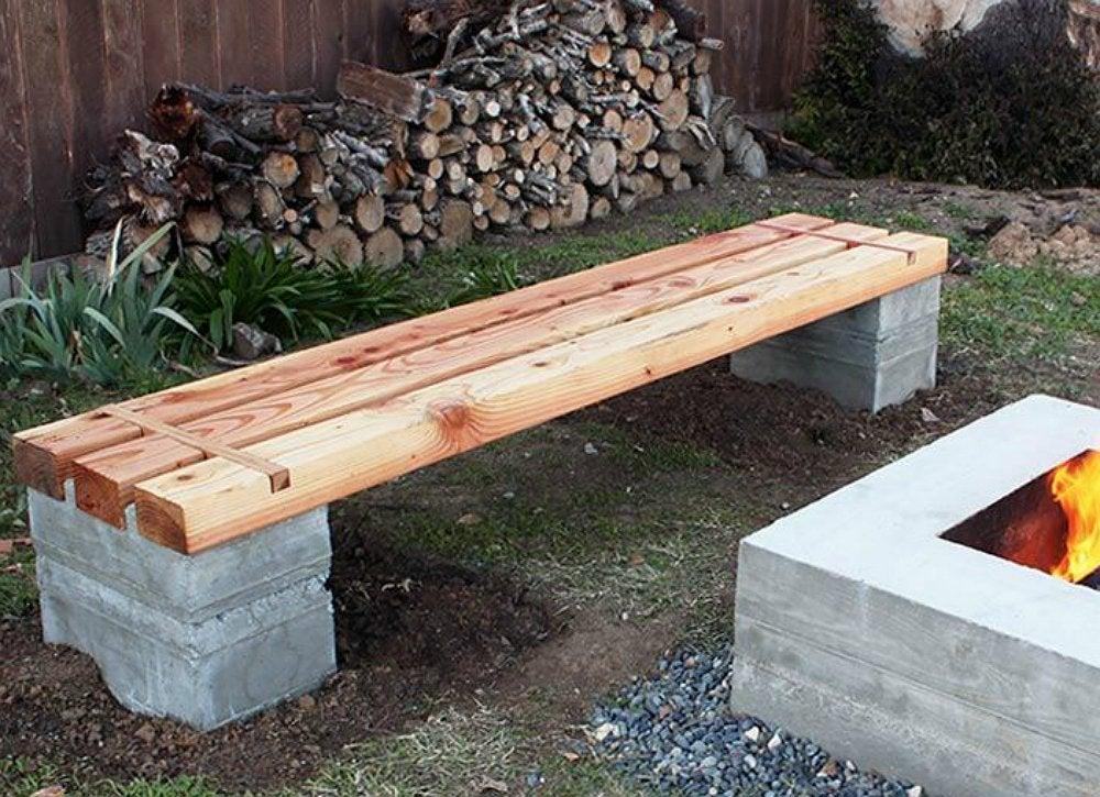 DIY Wood Projects - 10 Easy Backyard Ideas - Bob Vila on Backyard Wood Patio Ideas id=44174
