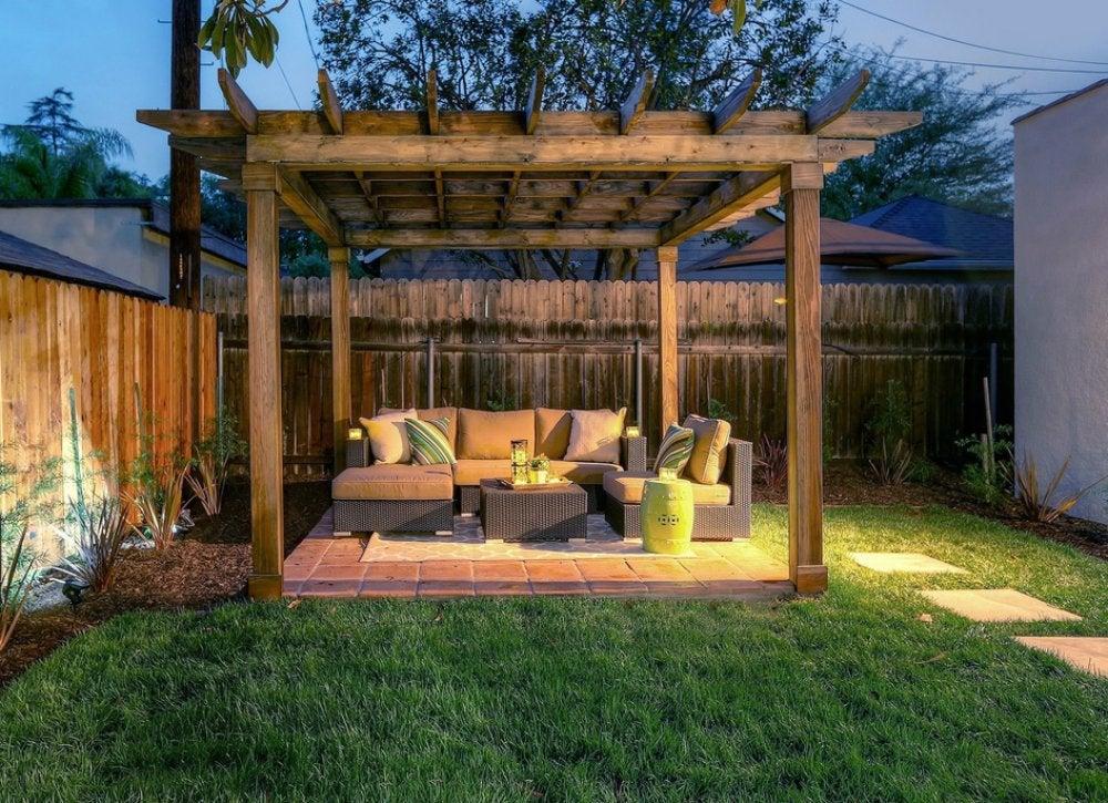 Backyard Privacy Ideas - 11 Ways to Add Yours - Bob Vila on Backyard Wooden Fence Decorating Ideas  id=68439