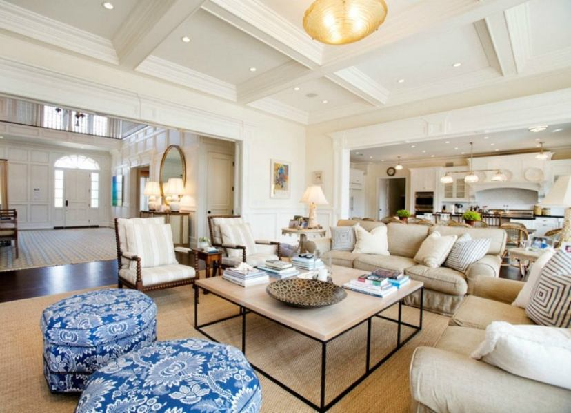 Open Floor Plan Ideas   8 Creative Design Strategies   Bob Vila Thoughtful lighting design is key for every room  but it becomes especially  important in an open floor plan  Use attention grabbing ceiling fixtures to