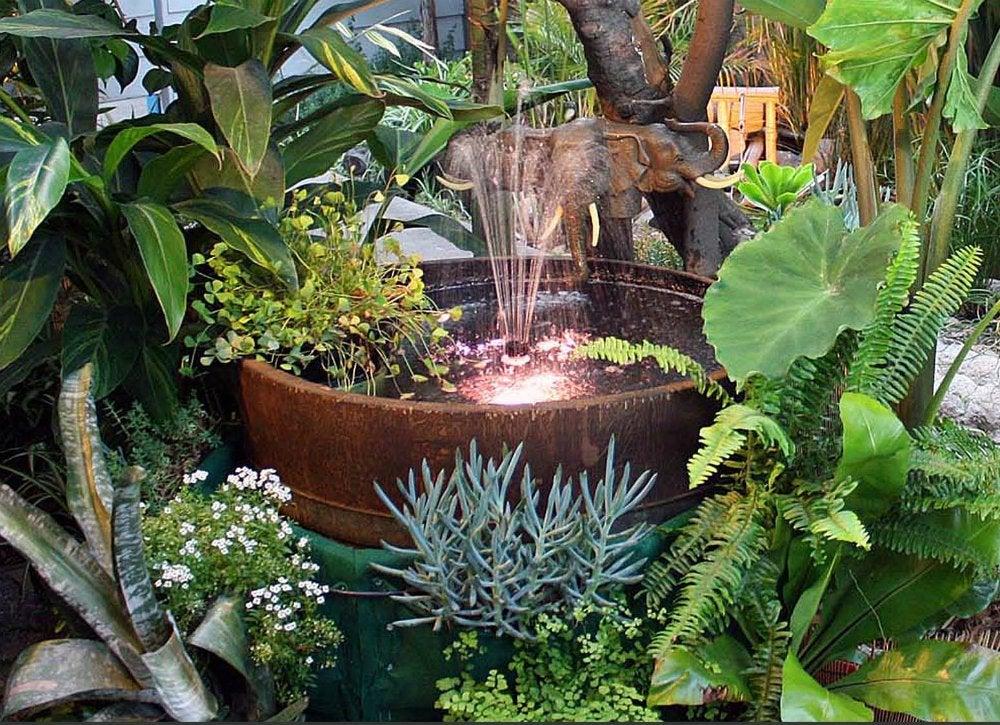 diy garden fountain DIY Fountain Ideas - 10 Creative Projects - Bob Vila