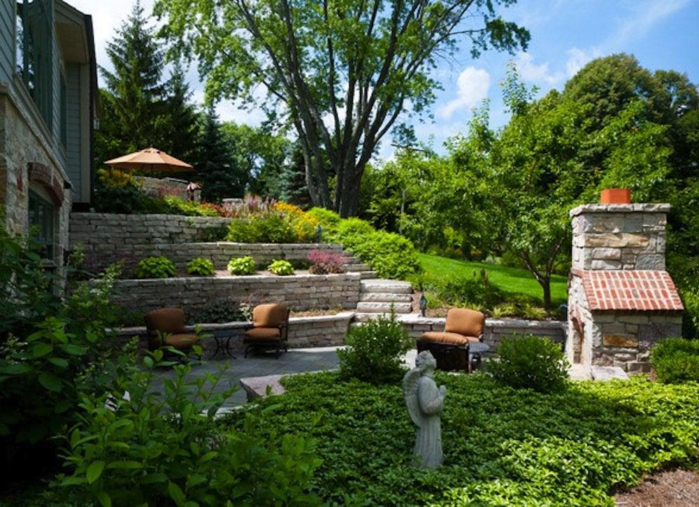 Terraced Yard - Small Backyard Landscaping Ideas - 8 DIYs ... on Terraced Yard Landscape Ideas id=53884