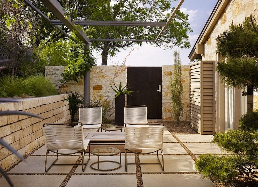 Patio Design - Patio Paver Ideas - 8 Ways to Use at Home ... on Backyard Pavers And Grass Ideas id=49272