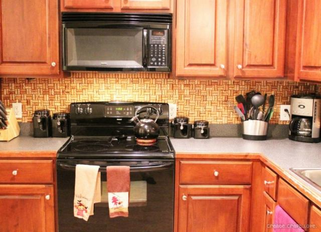 Backsplash ideas   corks