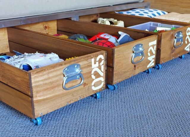 Diy rolling storage crate 2