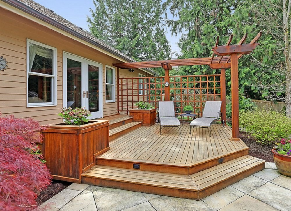 Deck Ideas: 18 Designs to Make Yours a Destination - Bob Vila on Simple Back Deck Ideas id=93078