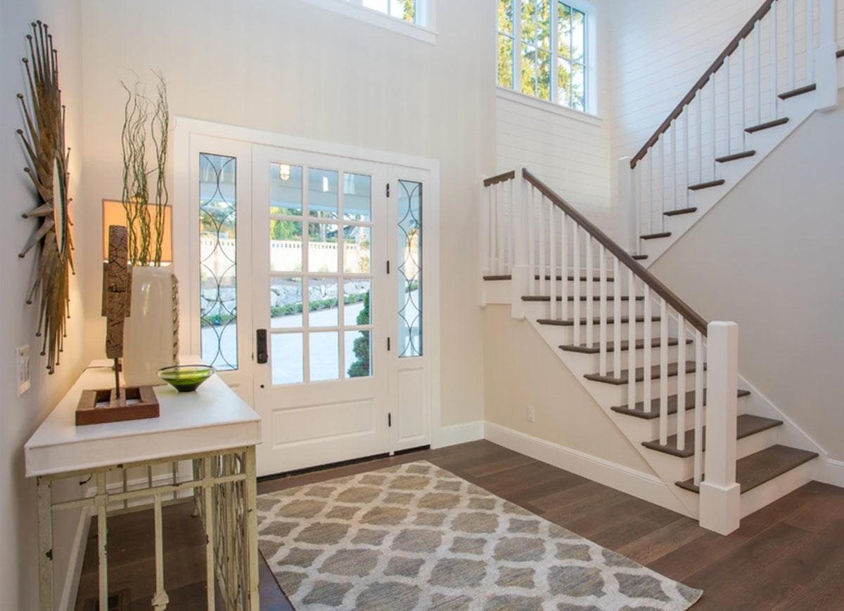 Front Entry Ideas 18 Entryways We Love Bob Vila   Ladder Design In Home   Unusual   Spiral   Steel   Iron   Easy