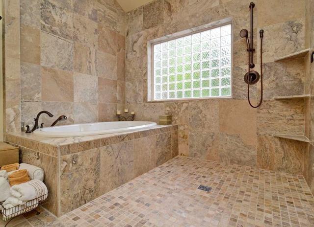 No threshold shower