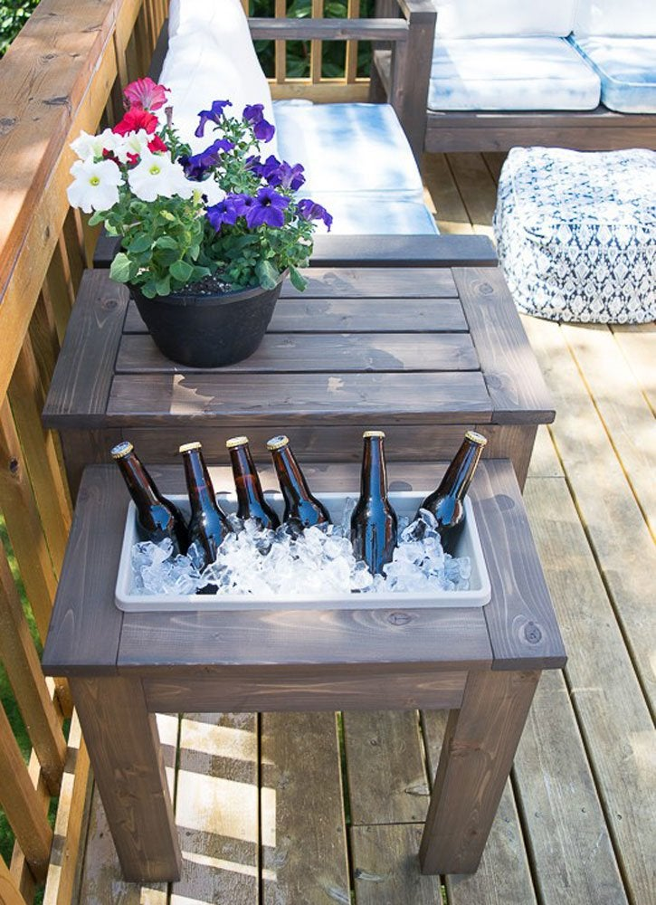 diy outdoor patio table DIY Patio Table - 15 Easy Ways to Make Your Own - Bob Vila
